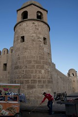 Susa (ramosblancor) Tags: morning history tunisia cities mosque ciudades human fortaleza mezquita habitat sousse fortress humano susa historia túnez temprano