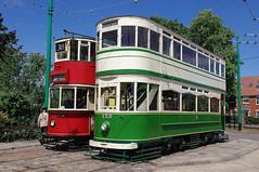 RD9669.  London and Blackpool Trams. (Ron Fisher) Tags: uk greatbritain england suffolk pentax unitedkingdom transport gb trams tramway eastanglia pentaxkx eastangliatransportmuseum