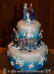 Frozen Birthday Cake Indianapolis