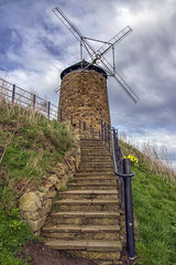 Windmill, St Monans, East Neuk (Colin Myers Photography) Tags: old church st parish colin photography scotland town seaside fishing village harbour fife scottish kingdom sunny east picturesque ye olde myers stmonans eastneuk monans neuk colinmyersphotography wwwcolinmyerscom