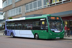 First Norwich 63317 SK65PWX (Will Swain) Tags: norwich 14th may 2016 bus buses transport travel uk britain vehicle vehicles county country england english norfolk south east first 63317 sk65pwx