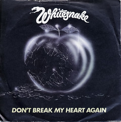 Whitesnake - Don't Break My Heart Again (Betapix) Tags: break heart picture 45 again dont cover single record whitesnake my