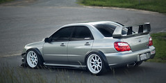 Subaru STI Limited (Team276) Tags: work mark iii wheels 85mm subaru 5d limited sti perrin flared aeroflow