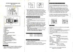 Horawashi, appareil photo motoris 35 mm, ref 347275 (Cletus Awreetus) Tags: camera vintage notice instructions compact modedemploi appareilphotographique usersmanual horawashi 347275