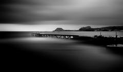 I ricordi di sempre... (Salvatore Brontolone) Tags: sea white black water mare gulf castello bacoli molo golfo pozzuoli miseno aragonese puteoli