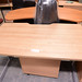 Large walnut desk