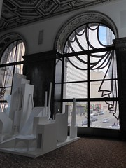 Chicago, Chicago Cultural Center, Model with Window Perspective (Mary Warren (6.8+ Million Views)) Tags: sculpture chicago abstract art window architecture curtains chicagoculturalcenter chicagoarchitecturalbiennial