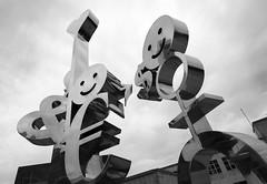 Characters (albireo 2006) Tags: blackandwhite bw sculpture blackwhite malta pb victoria nb bn characters symbols rabat gozo  blackandwhitephotos blackwhitephotos