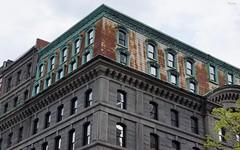 Old Boston Towne (Harry Lipson) Tags: windows building boston architecture copper rusting mansard harrylipsoniii harrylipson oldbostontowne