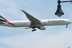 IMG_2593 (wmcgauran) Tags: boston airplane airport aircraft aviation emirates boeing bos 777 eastboston kbos a6ecp