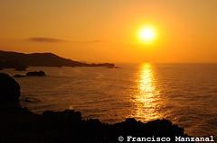 Atardecer (fjmanzanal) Tags: asturias llanes cantbrico celorio