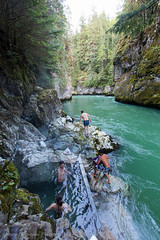 Hot Springs! (Jason Pineau) Tags: lake canada hot pool river spring bc britishcolumbia pools springs pitt thermal