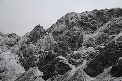 The Walls of Cadair Idris (Burnside Photos) Tags: white snow black rock wales bare valley snowdon snowdonia exposed cau idris llyn cadair
