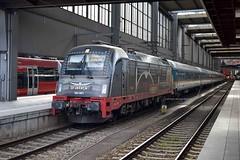 Advert loco (MCW1987) Tags: munich bahnhof db class 64 locomotive es bahn u4 deutsche 183 183001