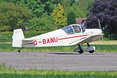 G-BANU Jodel D.120 C.H.Kilner Sturgate Fly In 05-06-16 (PlanecrazyUK) Tags: sturgate egcv fly in 050616 gbanu jodeld120 chkilner fly in