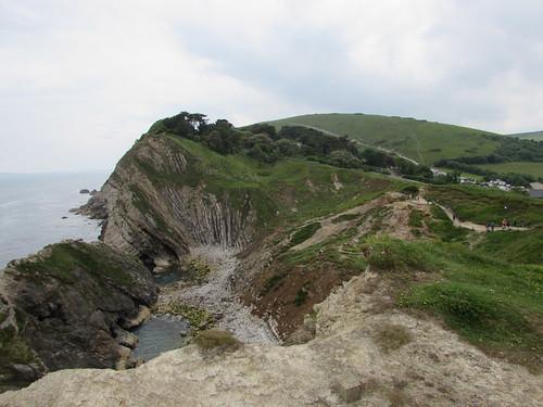 West Lulworth: Stair Hole (Dorset)
