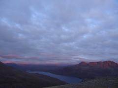 Slioch and Lochan Fada (Mr Trekker) Tags: mountains scotland alpenglow munros scottishhighlands wildcamping mountainscenery