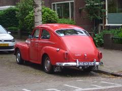 Volvo PV544 C Katterug  06-1961  AE-62-37 (harry.pannekoek) Tags: volvo pv544 c katterug 061961 ae6237