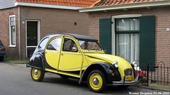Citron 2CV Charleston 1986 (XBXG) Tags: auto old france holland classic netherlands car vintage french automobile nederland citron voiture charleston 2cv frankrijk 1986 paysbas eend geit ancienne spaarndam 2pk 2cv6 citron2cv franaise deuche deudeuche ijdijk pg35sj