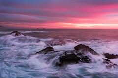 Turbulent (Tarun Kotz) Tags: ocean california sunset orange sun water golden pacific bigsur wave hues garrapata tides goldern escaype