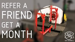 If you're an S&S Barbell member or would like to be and you refer a friend to join, you get a month free! We're running this for a short time to help get the word out about our new gym so this won't last long. Come make an appointment to check us out at h (squatsandscience) Tags: if youre an ss barbell member or would like be you refer friend join get month free were running this for short time help word out about our new gym wont last long come make appointment check us snsbarbellcomcontact spread squatsandscience snsbarbell squats bench deadlift powerlifting usapl weightlifting snatch cleanandjerk crossfit brooklyn nyc