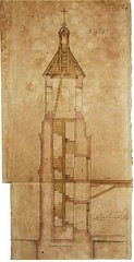Architectural Plans of a Spanish Colonial Church in Cebu (Leo Cloma) Tags: gallery antique auction philippines leon antiques makati cloma