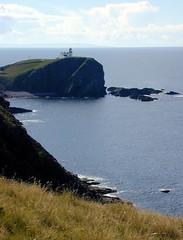 Stoer Point lighthouse, Scotland (novarex1) Tags: uk sea lighthouse point scotland rocks cliffs stoer