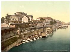 00944u (DenjaChe) Tags: dresden sachsen 1900 postcards 1900s postkarten ansichtskarten