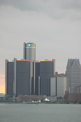 Belle Isle (Tricia Lynne) Tags: sunset skyline detroit belleisle gmbuilding