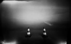 (plansac) Tags: sea mer noiretblanc pinhole bunker argentique filmphotography ilfordpanf50 stnop agfabillyrecord blackwhitephotos