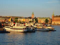 Sunset on The City (Mister.Marken) Tags: sweden boat stockholm urbanlandscape nikond5100 sunset
