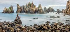 s Jun27_Gigi Hiu_Panorama1 (Andrew JK Tan) Tags: travel panorama sumatra indonesia rocks cliffs batulayar kelumbayan gigihiu pantaipegadungan