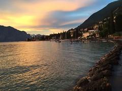 #Sunset #Malcesine #LagoDiGarda #Summer #Boats #Lakes #Mountains #HiddenGem (Thomson Lakes) Tags: sunset malcesine lagodigarda summer boats lakes mountains hiddengem
