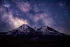 Divination (Murphy Osborne Photo) Tags: blue sky mountain way stars landscape photography star photo twilight mt space astro mount galaxy hour shasta shooting astronomy galaxies milky astrology meteor mounta mountainscape astroid