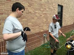 John_EagleProj_7553 (cmiked) Tags: 2016 august eagleproject john scouts troop377 tx waco