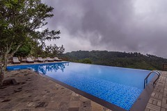Immerse yourself - in the Beautiful Nature (Yesmk Photography) Tags: grandpalace yercaud swimmingpool water blue cloudyday nature clouds yesmkphotography touristspot hotel salem tamilnadu india poormansooty outdoor daylight