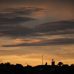Sherwood evening clouds 02 (bob watt) Tags: canon canoneos7d 7d 18135mm sunset august 2016 clouds sky