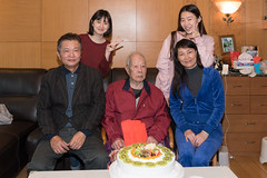 Wish Grandpa A Happy Birthday 4 (camike) Tags: 28mmf18g d750 lenses auntie birthday cousin grandpa portrait uncle