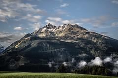 mountain (blaendwaerk) Tags: mountain canon eos 650d 1750mm austria sterreich berg alpen alps wolken clouds forest wald baum tree himmel sky snow schnee gipfel peak high tauern