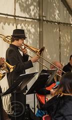 Marsden Jazz Festival 2016_0016 (Mark Schofield @ JB Schofield) Tags: marsden jazz festival 2016 huddersfield yorkshire musicians street people musical instrument dance ulverston band blast furnace