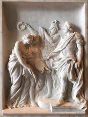 Louvre high relief (R. O. Flinn) Tags: marble relief carving sculpture art hautrelief highrelief paris