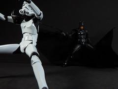 """Get over here!"" (Matheus RFM) Tags: batman injustice shfiguarts bandai kaiyodo revoltech stormtrooper starwars"