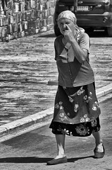 See You See Me (Alfred Grupstra Photography (bussy until 30 octobe) Tags: bw blackandwhite people street streetphotography streetlife woman pustec qarkuikors albani al
