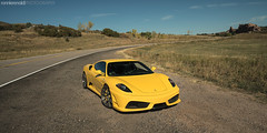 RR430_11Oct2015_09 (ronnierenaldi.com) Tags: rr430 ferrari f430 ronnierenaldi modified modded car cars exotic exotics auto automotive photography photoshoot yellow supercar prancing horse scud 430 giallo modena adv1 wheels adv1wheels ferrari430 ferrarif430 yellowferrari denverferrari scuderia ferrariscuderia exoticcar