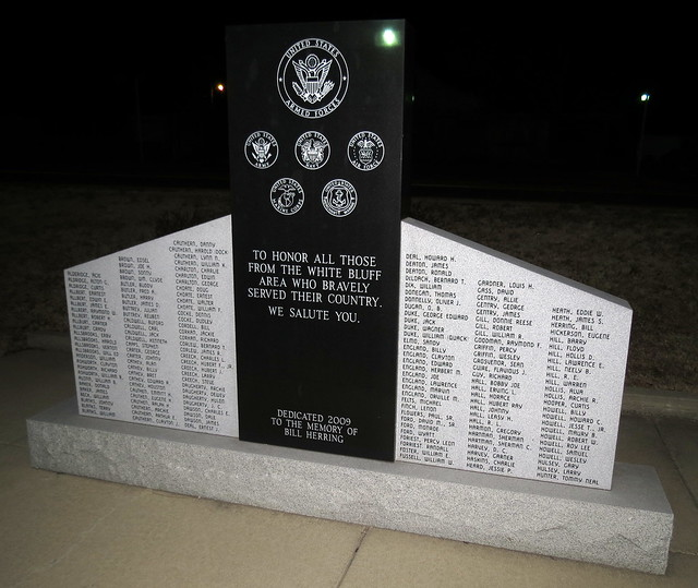 White Bluff Veterans Memorial