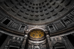 Inside the Pantheon [Rome, Italy]