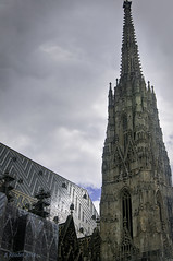 Stephansdom: A Symbol of Vienna (Greatest Paka Photography) Tags: vienna travel church architecture tile austria cathedral symbol religion gothic spire stephansdom reconstruction steffl cathedralofststephen littlestephen ceramicroof