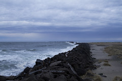 View of an angry sea from South Jetty, Fort Stevens, Oregon (Anna Calvert Photography) Tags: sea nature water oregon landscape coast rocks unitedstates pacificocean columbiariver historical fortstevens southjetty clatsopspit trestlebay fortstevensstatehistoricalsite