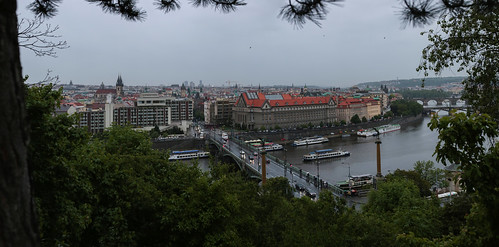 View from Letna Hill