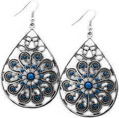 Glimpse of Malibu Blue Earrings P5712-3